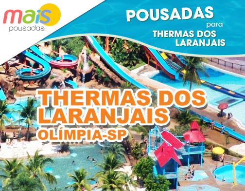 Pousadas Perto do Thermas dos Laranjais - Olímpia SP